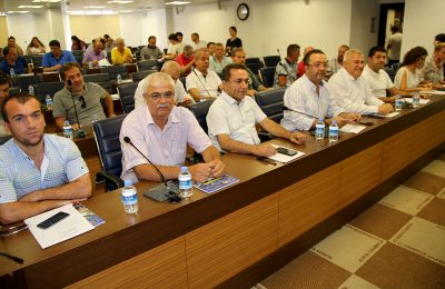 ALANYA CHAMBER OF COMMERCE AND INDUSTRY COMMITTE MEET