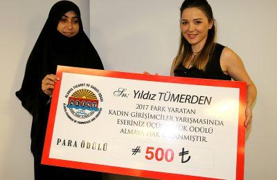 (Turkish) GİRİŞİMCİ KADINLAR ÖDÜLLENDİRİLDİ