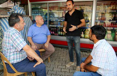 (Turkish) ŞAHİN, MAĞDUR ESNAFIN SESİ OLDU