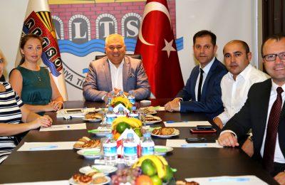 (Turkish) TÜRK – RUS İLİŞKİLERİNE ALTSO'DAN BİR DESTEK DAHA