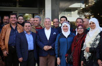 ŞAHİN'DEN ÜRDÜNLÜLERE ÇAĞRI 'ALANYA'YA YATIRIM YAPIN'