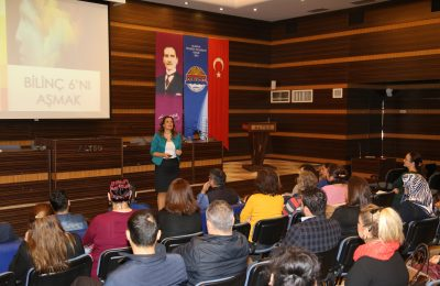 (Turkish) BİLİNÇ 6'NI AŞMAK SEMİNERİ ALTSO'DA GERÇEKLEŞTİRİLDİ