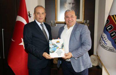 (Turkish) SUNEXPRESS'DEN ŞAHİN'E ZİYARET