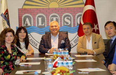 (Turkish) KAZAK GAZETECİLERDEN ALTSO'YA ZİYARET
