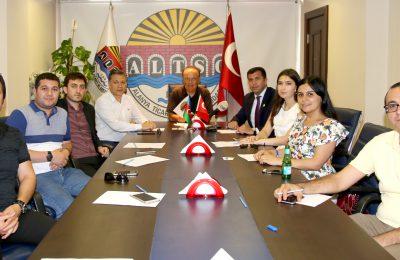 (Turkish) AZERİ GAZETECİLERDEN ALTSO'YA ZİYARET