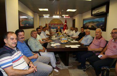 (Turkish) VERGİ DAİRESİ BAŞKANI ALTSO'DA ODA BAŞKANLARI İLE BULUŞTU