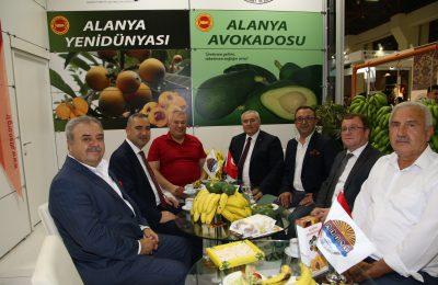 (Turkish) YÖREX YÖRESEL ÜRÜNLER FUARINA ALANYA DAMGASI