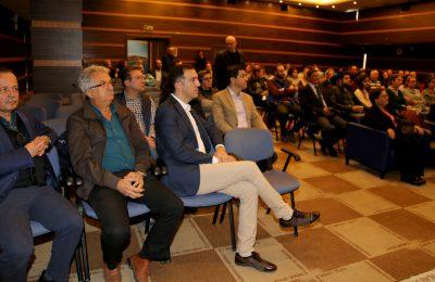 ÜNLÜ EKONOMİST DR TEOMAN MATLUM ALTSO'NUN KONUĞU OLDU