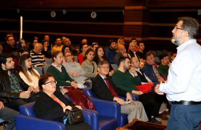 (Turkish) ÜNLÜ EKONOMİST DR TEOMAN MATLUM ALTSO'NUN KONUĞU OLDU