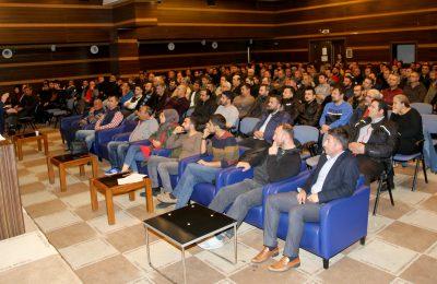(Turkish) DENİZ TUTKUNLARI ALTSO'DA SINAVA GİRDİ