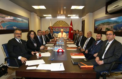 MEHMET ŞAHİN'Lİ ALTSO, 3. KEZ DALYA DEDİ