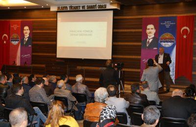 DEVLET DESTEKLERİ ALTSO'DA ANLATILDI