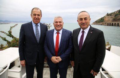RUS BAŞKONSOLOS ROGOZA'DAN BAŞKAN ŞAHİN'E ZİYARET