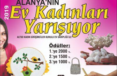EV KADINLARI YARIŞIYOR 2019