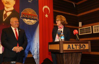 (Turkish) ALTSO'DA BÜYÜKELÇİLER ZİRVESİ
