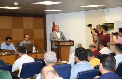 """(Turkish) ŞAHİN: """"ALANYA HUZURLU VE GÜVENLİ BİR ŞEHİR"""""""
