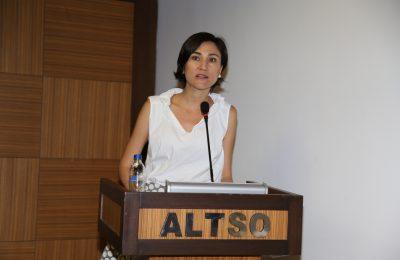 ALTSO KADIN GİRİŞİMCİLİĞİ DESTEKLEMEYE DEVAM EDİYOR
