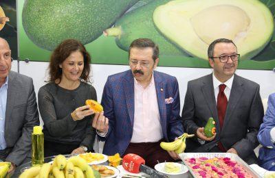 (Turkish) YÖREX YÖRESEL ÜRÜNLER FUARI'NA ALANYA DAMGASI