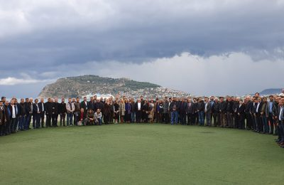 (Turkish) ALTSO ÜYELERİ YAĞMURA RAĞMEN TOPLANTIYA AKIN ETTİ