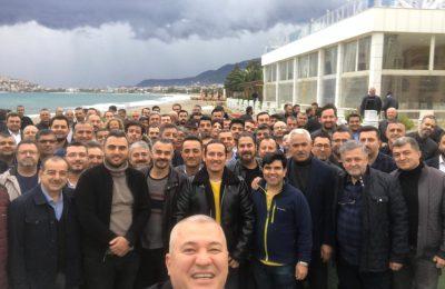 ALTSO ÜYELERİ YAĞMURA RAĞMEN TOPLANTIYA AKIN ETTİ