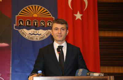 (Turkish) YENİ UYGULAMALAR ALTSO'DA ANLATILDI