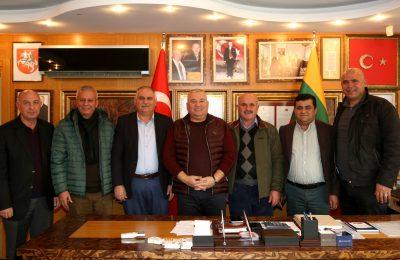 (Turkish) BATI BÖLGESİ MUHTARLARI BAŞKAN ŞAHİN'E NOTER TALEBİNİ YENİLEDİ