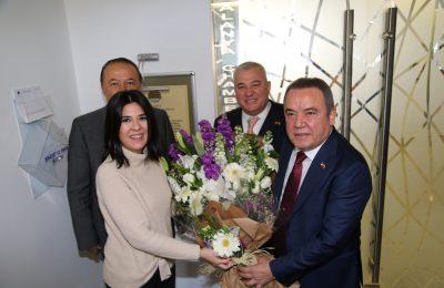 BAŞKAN BÖCEK'TEN ALTSO'YA ZİYARET