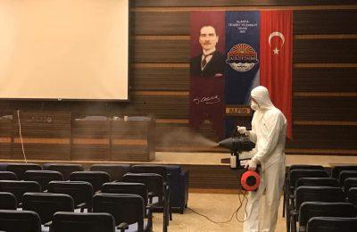 ALTSO HİZMET BİNASI DEZENFEKTE EDİLDİ