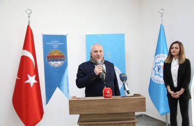 (Turkish) ALTSO'DAN ALKÜ'YE MUTFAK JESTİ