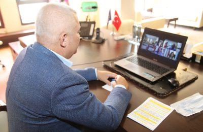 (Turkish) ŞAHİN, LİTVAN BÜYÜKELÇİYLE TELEKONFERANS ÜZERİNDEN GÖRÜŞTÜ