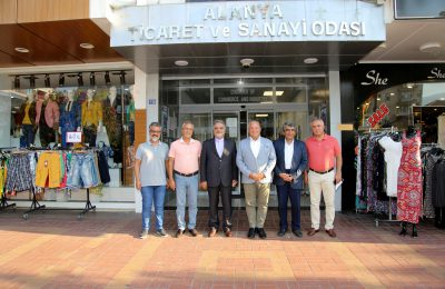 THE TOP-LEVEL OFFICIAL VISIT TO ALANYA FROM IRAN