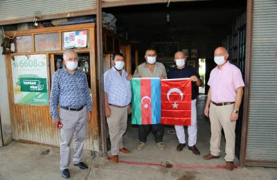 PRESIDENT ŞAHİN CONTINUES HIS FLAG CAMPAIGN
