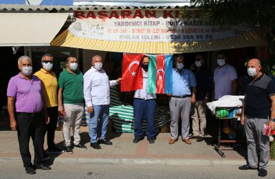 PRESIDENT ŞAHİN STARTED THE BROTHER COUNTRY FLAG CAMPAIGN