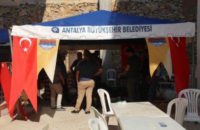 (Turkish) BAŞKAN ŞAHİN, GÜNDOĞMUŞ HALKININ DA YANINDA